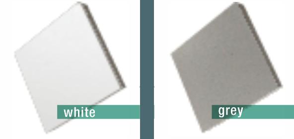 pvc greywhite