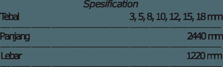 gypsum specification