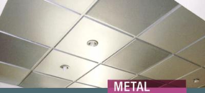 header plafon metal