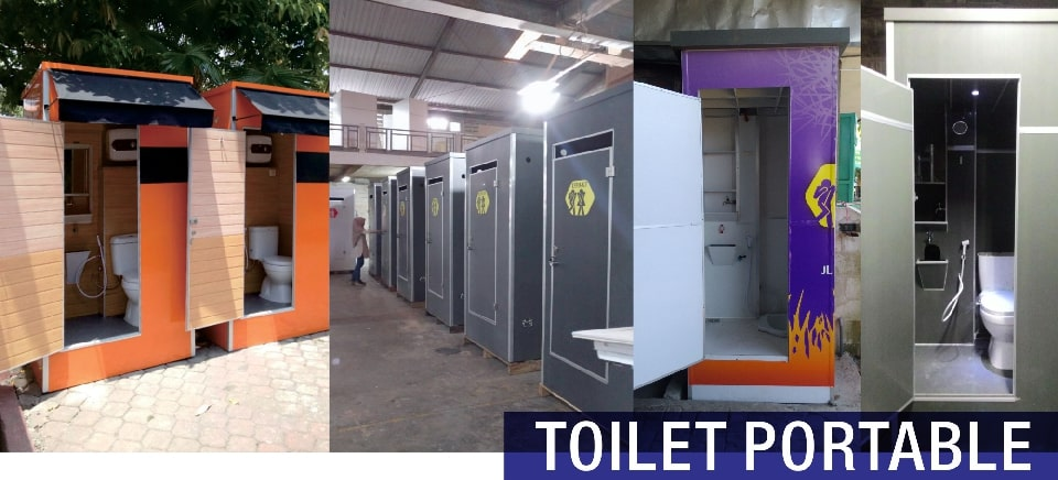 header toilet portable