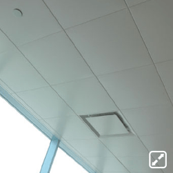 plafon Metal Ceiling Snap In