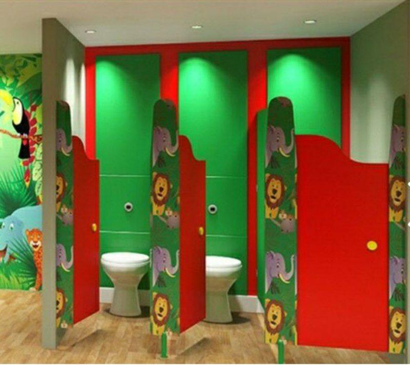 cubicle toilet