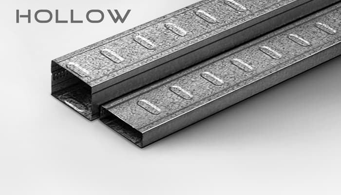 hollow 2x4