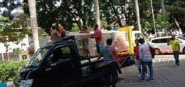 Pengiriman Panel Akustik Amstrong – Surabaya