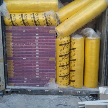 Loading Drop material Glasswool 3