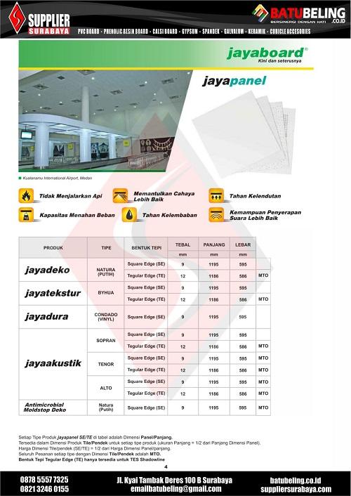 Brochure JAYABOARD BB 04