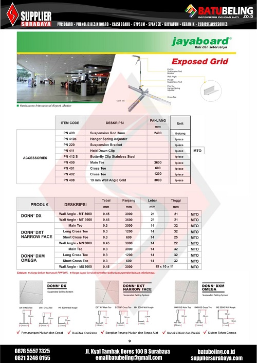 Brochure JAYABOARD BB 09